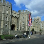 Windsor Castle as you cycle Hampton Court to Windsor