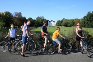 Marble Hill House by bike