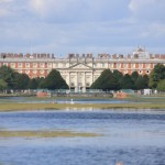 Windsor Castle to Hampton Court Palace by bike
