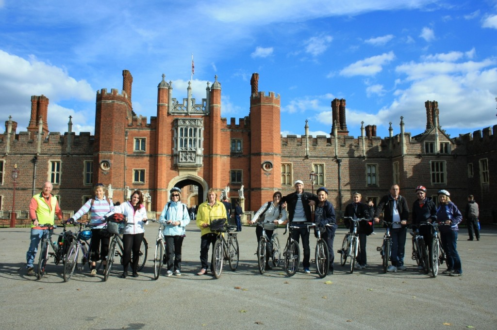 Bike to Hampton Court palace
