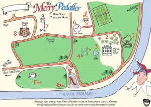 Love our new map for family  treasure hunt! Done by Russ from www.mooks.co.uk