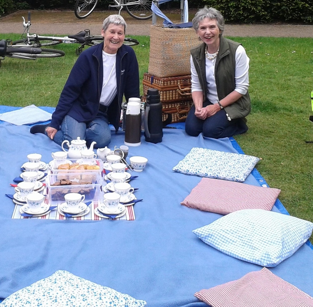 The lovely mums set up our afternoon tea picnic beautifully!