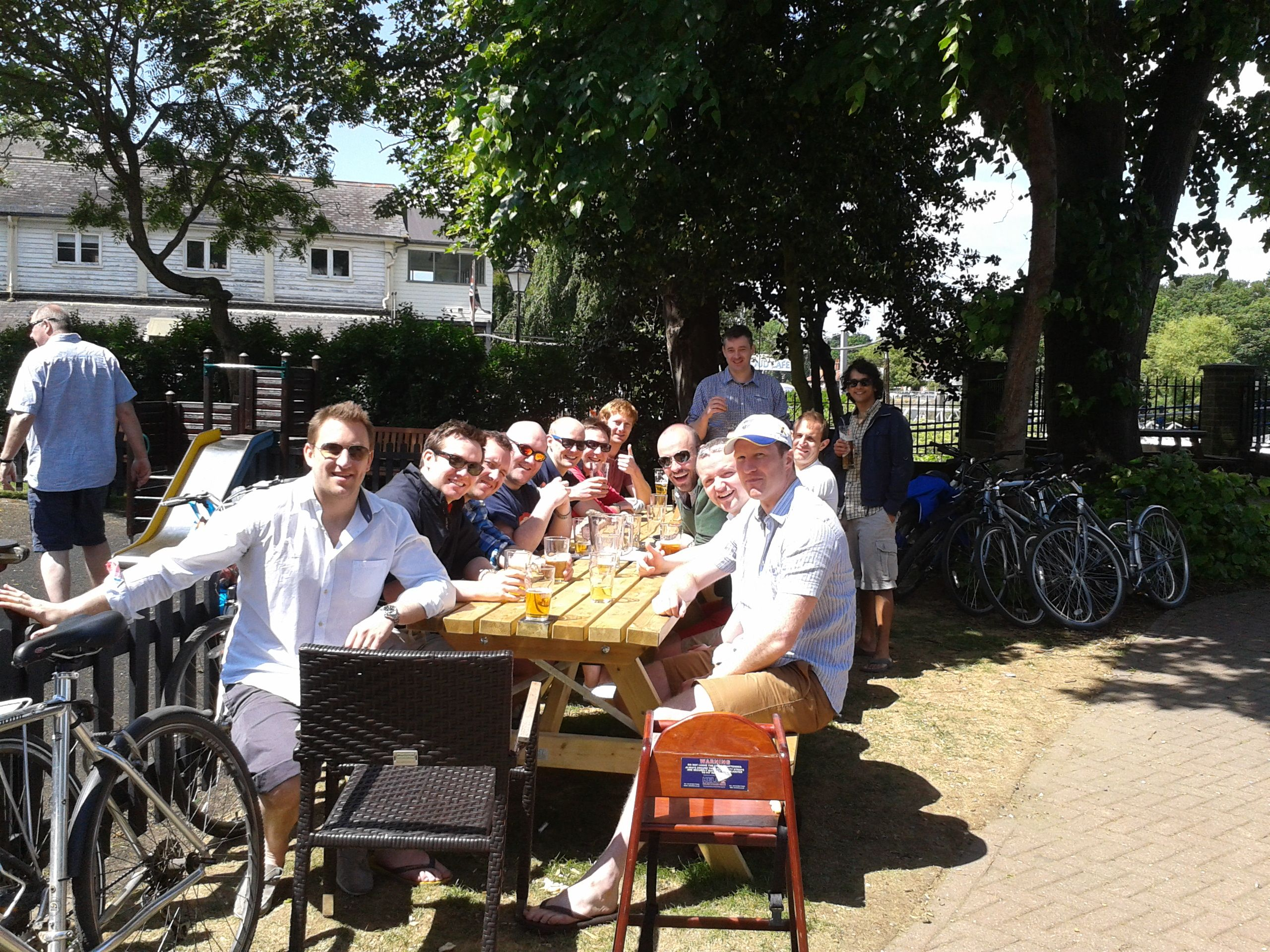 Stag Party Bike Ride