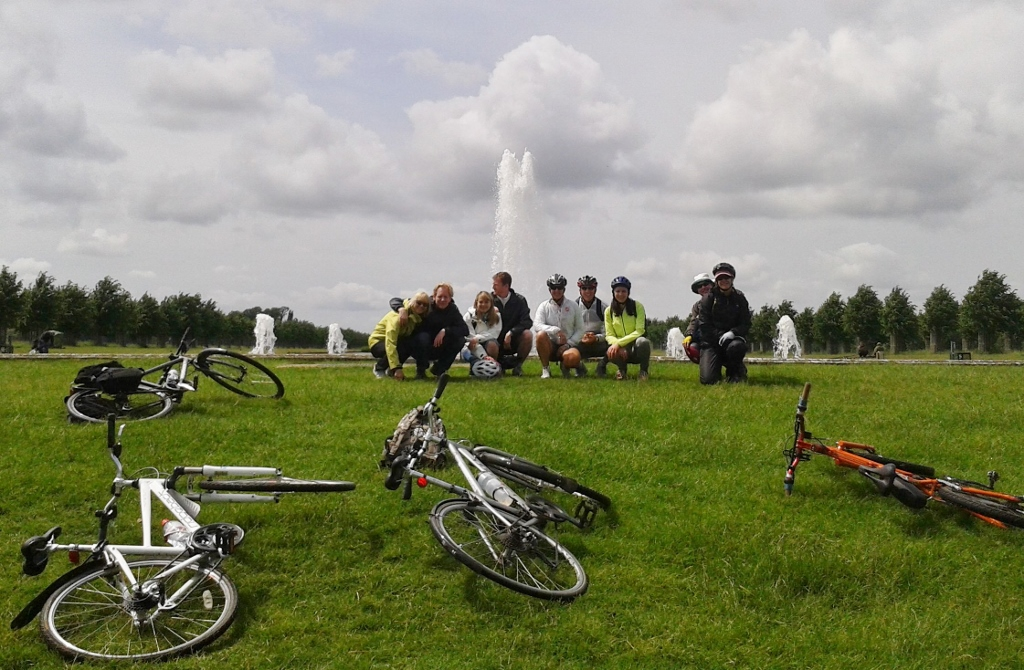 Hampton Court Palace Bike Tour + afternoon tea