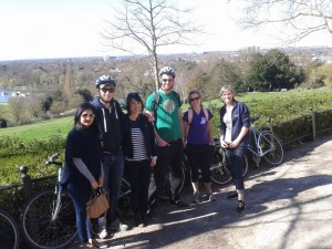 Richmond Park Bike Tour 16/03/2014