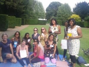 Our Royal Deer Park Treasure Hunt was chosen by this bunch on their hen party!