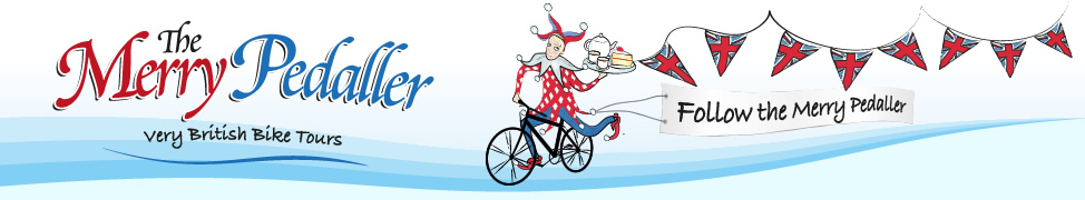 Merry Pedaller Bike Tours London Logo