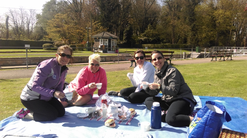 Enjoy a breakfast picnic on a shorter ride to visit Windsor Castle the same day