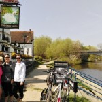 Riverside pub lunch to Windsor ride