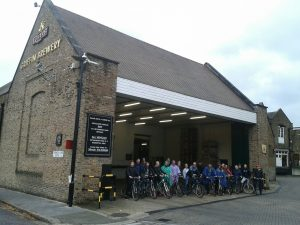 London Fullers Brewery Bike Tour