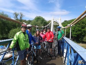 team building bike tours