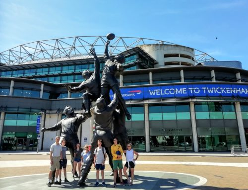 Twickenham Rugby Stadium By Bike