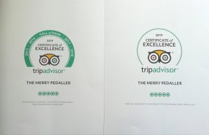 News merry pedaller bike tours